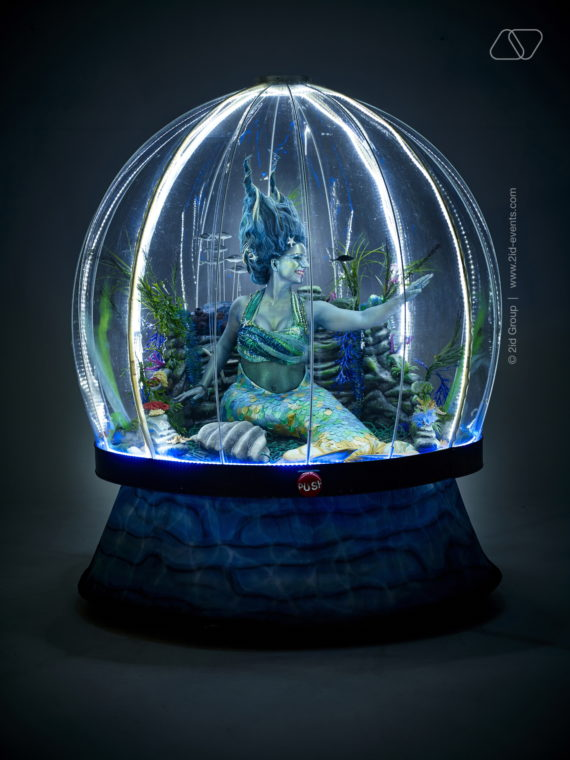 MERMAID GLOBE IN DUBAI