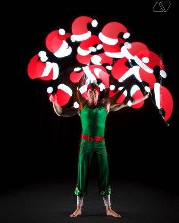 CHRISTMAS THEME ACROBATIC ARTISTS IN DUBAI