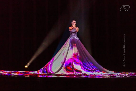 3D MAPPING DRESS PERFORMANCE IN DUBAI