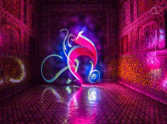 INTERACTIVE LED PAINTING IN DUBAI