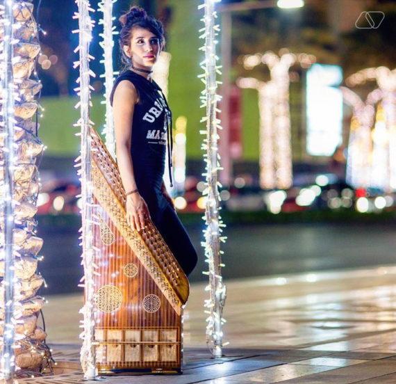 FEMALE QANUN PLAYER IN DUBAI