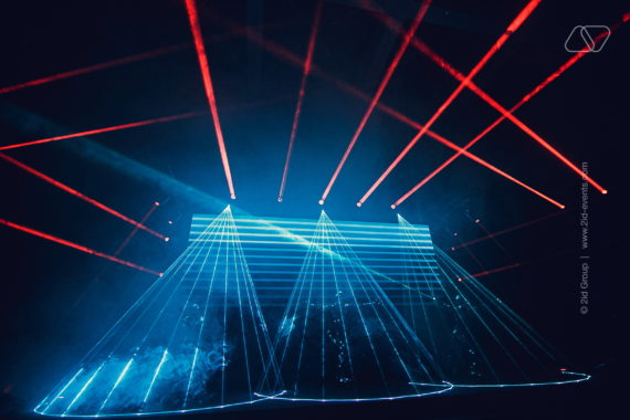 LASER MIRROR SHOW IN DUBAI