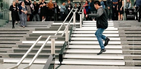 INTERACTIVE STAIRS IN DUBAI