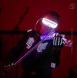 LED VIOLIN SHOW IN DUBAI